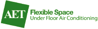 AET Fleixble Space under floor conditioning